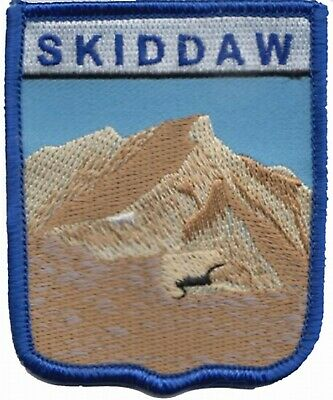 Skiddaw Mountain Lake District Cumbria County Embroidered Patch Badge