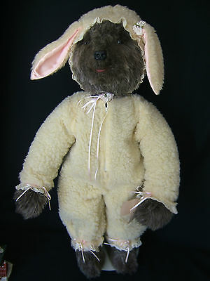 """VINTAGE but NEW TILLY COLLECTIBLES Wolf in Sheeps Clothing Wooley 30"""" tall NWT"""