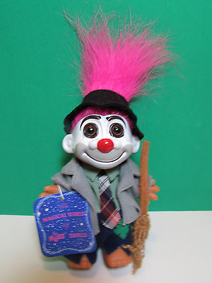 "HOBO - 5"" Russ Troll Doll - NEW WITH HANG TAG  - Pink Hair"