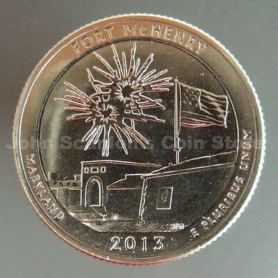 2013-S Fort McHenry National Monument Park Quarter - Choice BU