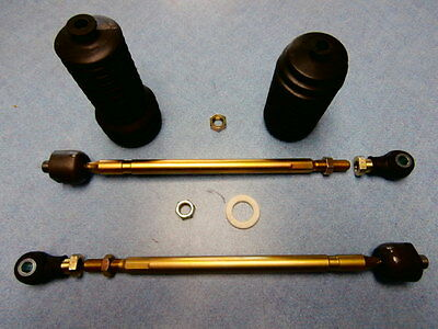 New Polaris Rzr 800  Heavy Duty Tie Rod Kit Right And Left With Rod Ends