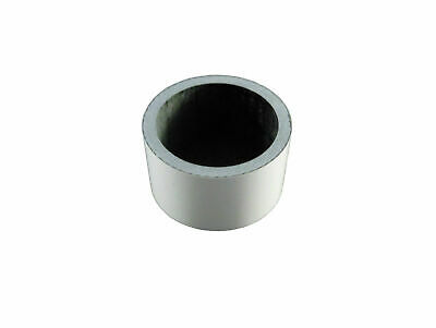 """Carbon Headset Spacer White Painted 20mm x 1-1/8"""" x 35mm Gloss Bevato"""