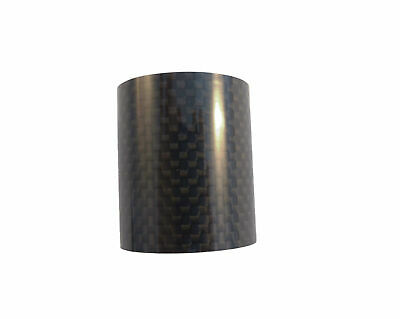 "Carbon Headset Spacer 40mm x 1-1/8"" x 35mm 3k Weave Gloss Prestine"