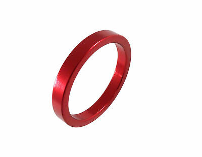 "Headset Spacer 1-1/8"" x 5mm x 34mm Anodised Red Prestine PT67A"