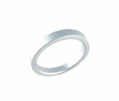 "Headset Spacer 1-1/8"" x 5mm x 35mm Anodised Silver Prestine"