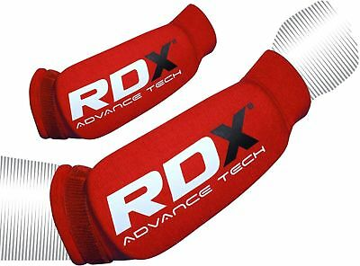 RDX Forearm Support Pads Protector Brace Wrist Guard MMA Protection Red M L