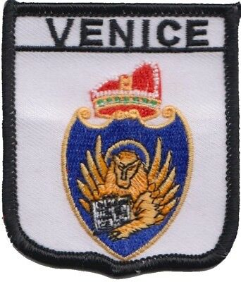 Italy Venice City Coat Of Arms Shield Embroidered Patch Badge
