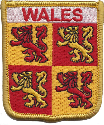 Wales Welsh Owain Glyndwr Devolution Flag Embroidered Patch Badge