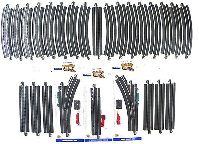 HO Scale Model Railroad Trains Layout Bachmann EZ Track Steel Super Track Pack