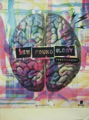 NEW FOUND GLORY 2011 RADIO SURGERY PROMO POSTER ~NEW MINT condition~!!