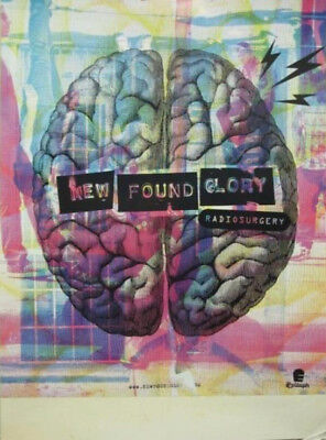 New Found Glory 2011 Radio Surgery Promotional Poster New Old Stock Flawless