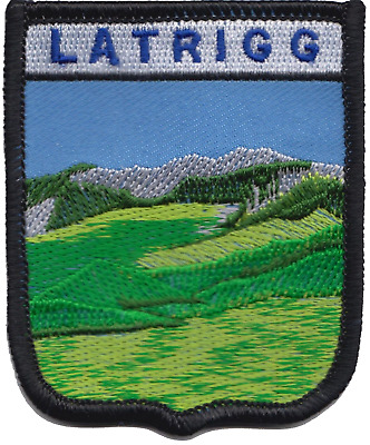 Latrigg Fell Keswick Lake District Cumbria County Embroidered Patch Badge