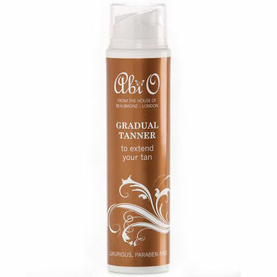 ABI O 200ml GRADUAL TANNER NATURAL ORGANIC TANNING LOTION EXTENDER BEAUBRONZ