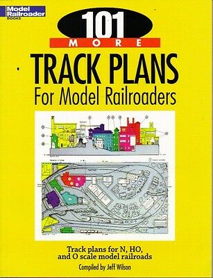 Model Railroader Books 101 More Track Plans For Train Layouts Self Help Guide