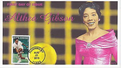 Jvc Cachets - 2013 Althea Gibson Black Heritage #2 First Day Cover Fdc