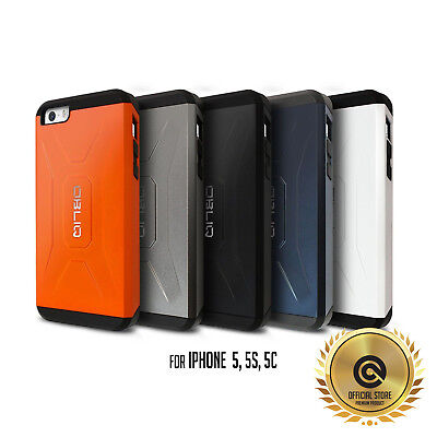 iPhone 5S/5/5C Dual Layer Tough Hybrid Protective Case [OBLIQ XTREME Pro] Heavy