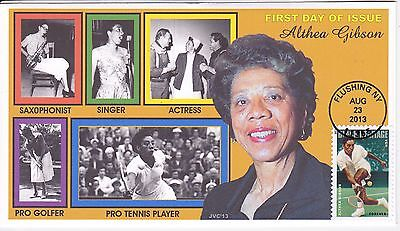 Jvc Cachets - 2013 Althea Gibson Black Heritage #4 First Day Cover Fdc