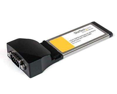 StarTech.com 1 Port ExpressCard to RS232 DB9 Serial Adaptor Card with 16950 -