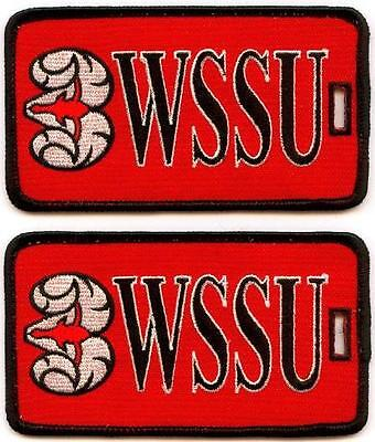 WINSTON-SALEM STATE UNIVERSITY Luggage ID Tags (Set of 2) WSSU