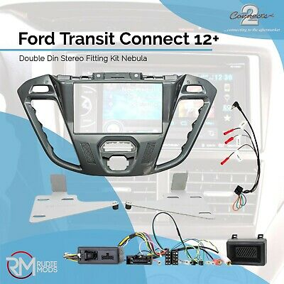 Connects2 Ford Transit Connect 12 on Double Din Stereo Fitting Kit Nebula