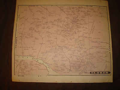 Antique Eldred Township Seigle Punxsutawney Jefferson County Pennsylvania Map Nr