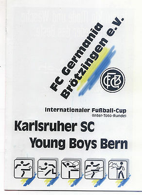 IFC 23.07.1994 Karlsruher SC - Young Boys Bern, InterToto Cup in Brötzingen