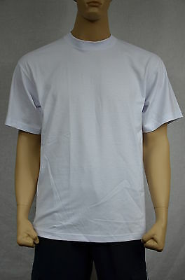 6 New Shaka Wear Super Max Heavy Weight T-Shirts Warm White Tee Plain 3Xlt Tall