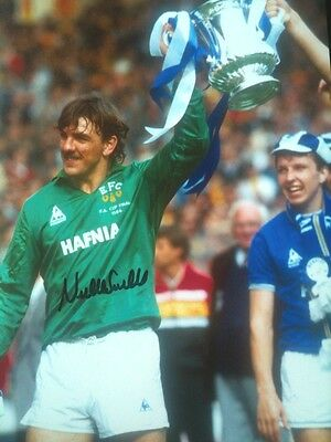 Neville Southall - Legendary Everton Keeper - Signed Colour Photograph