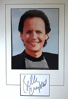 Billy Crystal - Top Actor - Brilliant Signed Colour Photo Display