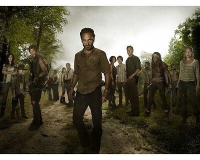 Walking Dead, The [Andrew Lincoln / Norman Reedus] (53112) 8x10 Photo