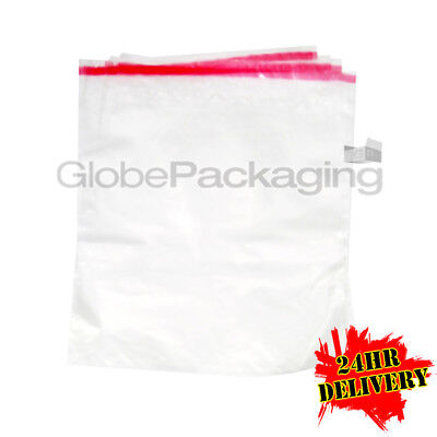 """1000 C4 CLEAR Poly Mailing Bags Self Seal 9x12"""" A4 SIZE"""