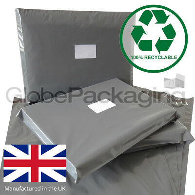 Strong Grey Postage Mailing Bags *100% Recyclable*