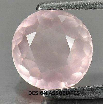 Rose Quartz Round Cut 8 Mm All Natural Aaa