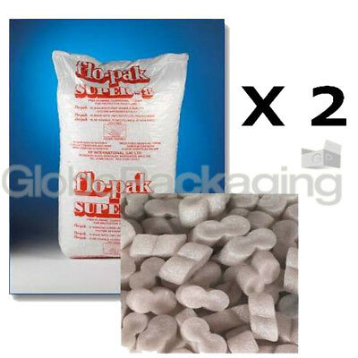 30 Cubic Foot FLOPAK Loose Void Fill Packing Peanuts