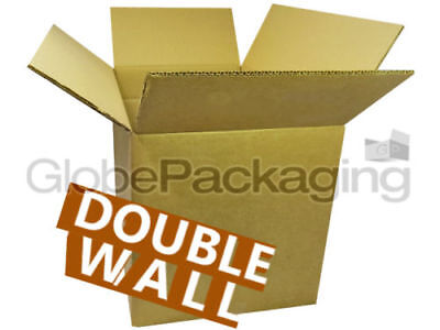 25 LARGE D/W CARDBOARD REMOVAL STORAGE BOXES 18x12x12""