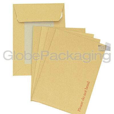 25 x C5 A5 BOARD BACK BACKED ENVELOPES 229x162mm PIP