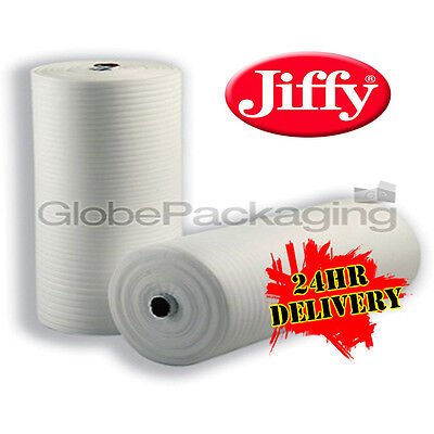 500mm x 200M Roll Of JIFFY FOAM WRAP Underlay Packing