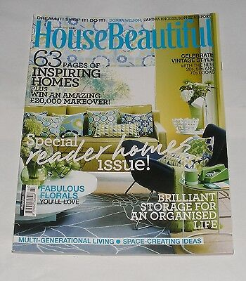 House Beautiful March 2012  - Special Reader Homes Issue