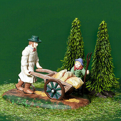 Dept 56 Dickens TAKING GRAIN TO THE MILL MIB MINT!
