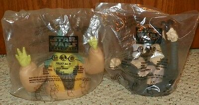 1999 Star Wars Episode I - Cup Topper Lot 10 each -  Taco Bell, Pizza Hut, KFC