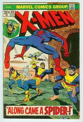 X-Men # 83 (guest-starring Spiderman) (USA 1973)