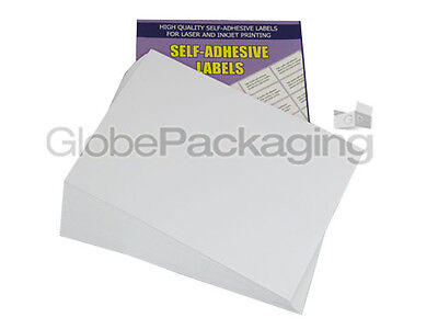 100 Sheets - 21 Per Sheet - Quality A4 Easy Peel Printer Address Labels *offer*