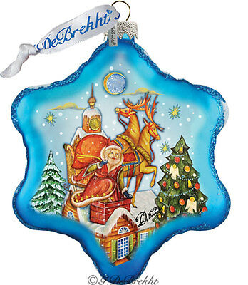 G DeBrekht SPECIAL DELIVERY Glass Christmas Ornament 754-006