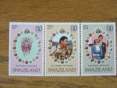 Swaziland - Trio Of Stamps - 1981