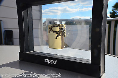 stunning ZIPPO Golden Gothic Skull - limited edition very rare collectible