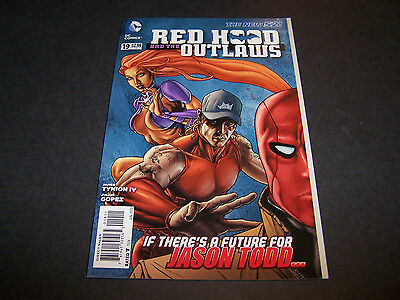 New 52 Red Hood And The Outlaws #19 1St Print Dc Wtf? Starfire Red Hood Arsenal