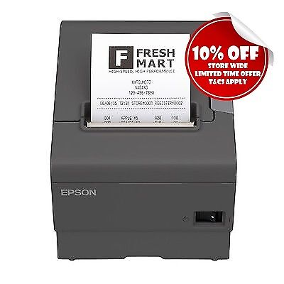 EPSON TM-T88V-043 OnCounter Compact POS THERMAL RECEIPT PRINTER USB+Serial RS232