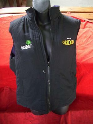 Perth Orioles Official Vest In Great Condition Size M