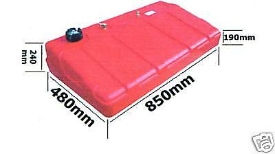 New Era Fuel Tank - 75Ltr - Brand NEW With Electronic Fuel Sender and Guage