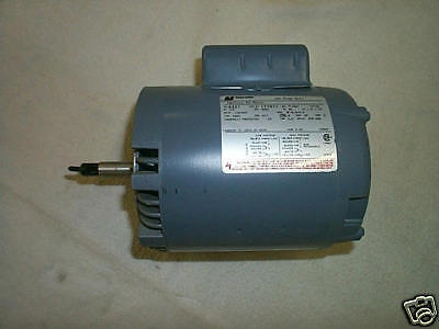 CENTURY AC ELECTRIC MOTOR 1/3 HP 115/230 VOLTS 3450 RPM NEW IN THE BOX NEW
